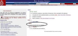 La Real Academia Española es machista