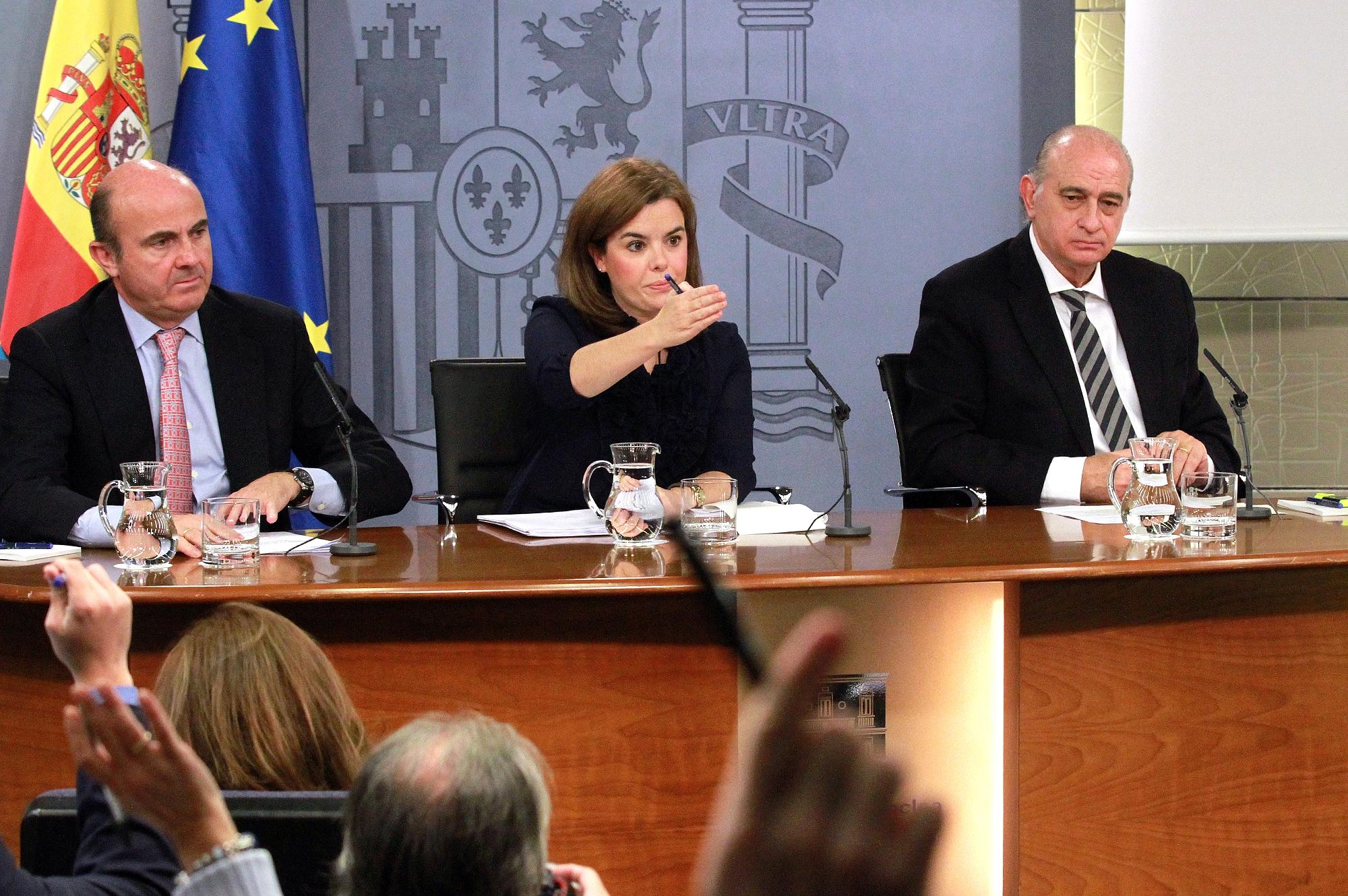 Rueda de prensa del Consejo de Ministros, Moncloa, 29.11.2013