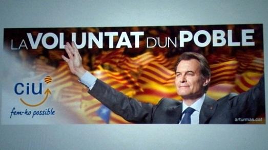 La voluntat d'un poble. lema campanya ciu 2012