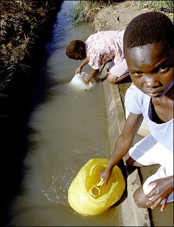 La escasez del agua, otro problema social del mundo globalizado