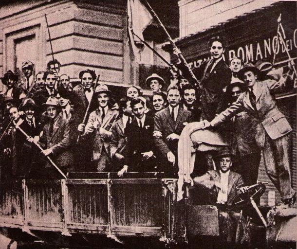 dopo la marcia squadristi roma