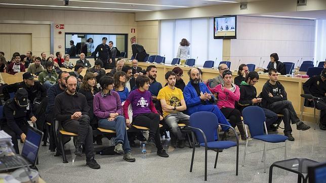 Los acusados por el asedio al Parlamento catalán