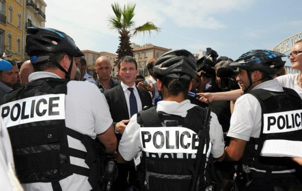 Marsella una puesta en escena seguridad