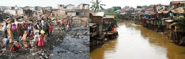 Dhaka y Jakarta, ciudades de agua residual